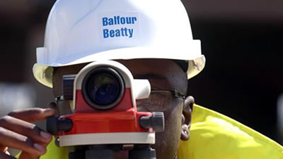 IFDNRG host webpages for Balfour Beatty